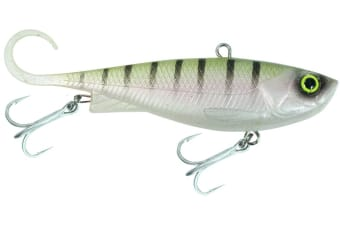 65mm Zerek Fish Trap Soft Vibe Lure - Col RT - Sinking Crankbait Fishing Lure