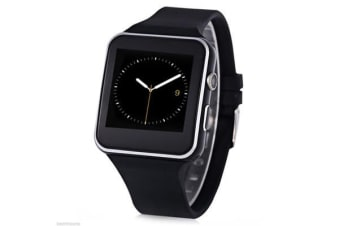 "TODO Bluetooth V3.0 Smart Watch 1.54"" Ips Hd Lcd Rechargeable Handsfree Call - Black"
