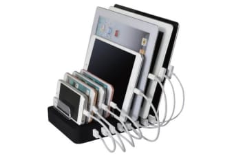 8 Point USB Charging Station Charger Hub