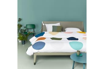 275TC Big Dots Cotton Sateen Quilt Cover Set by Auping