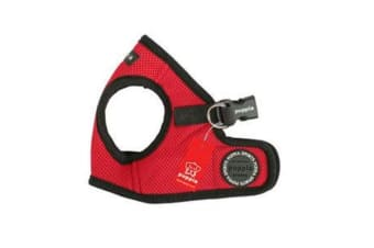 Puppia Soft Vest Harness Red - S