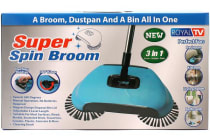 Super Spin Broom Hand Push Broom Sweeper Household Floor Cleaning Mop