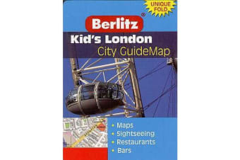 Kid's London City Guide Map