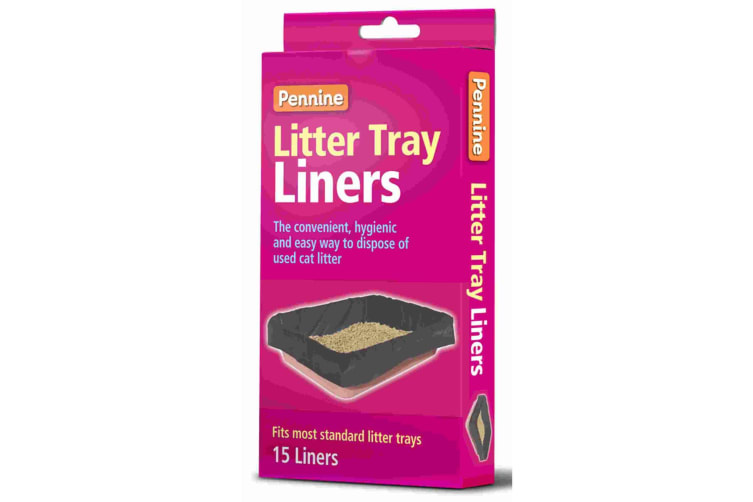 Pennine Cat Litter Tray Liners (Black) (One Size)