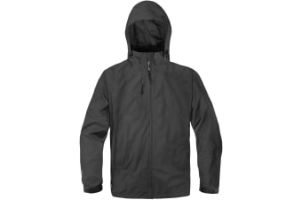 Stormtech Mens Stratus Light Shell Jacket (Waterproof & Breathable) (Black)
