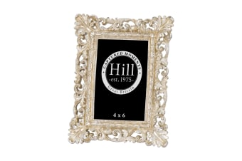 Hill Interiors Antique Champagne Ornate Cut Out Photo Frame (Champagne)