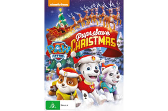 Paw Patrol Pups Save Christmas DVD Region 4