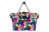 New Sachi Carry Shopping Basket Collapsible Tote for Picnic Camping Harlequin