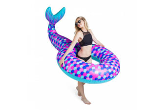 Giant Mermaid Tail Float Gigantic Swimming Inflatable Floatie