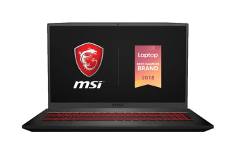 "MSI GF75 Thin 17.3"" Core i7-9750H 16GB RAM 256GB SSD 1TB HDD GTX1650 120Hz Gaming Laptop (GF75-9SC-291AU)"