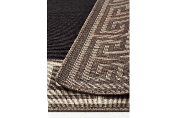 Adonis Charcoal Outdoor Rug 270X180cm