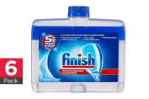 6-Pack Finish Dishwasher Cleaner 250ml