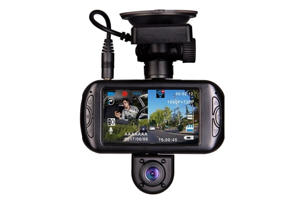 Laser Navig8r 1080p 720p Dual Front and Internal Cameras with GPS (NAVC-717D)