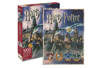 Aquarius Harry Potter Hogwarts 1000pc Jigsaw Puzzle Children/Teen/Kids 14y+ Toys