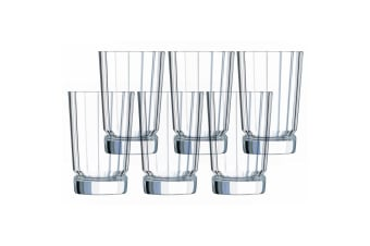 6PK Cristal D'Arques Macassar 360ml Highball Hiball Glass Glasses Bar Tableware