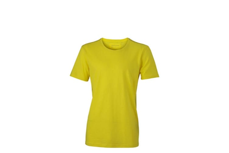 James and Nicholson Mens Urban T-Shirt (Yellow) (3XL)