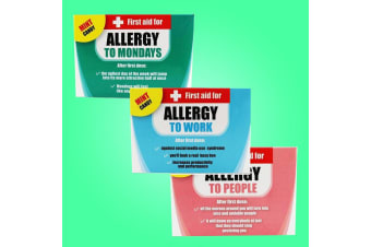 First Aid Novelty Work Allergy Mints For The Office - Allergy To People