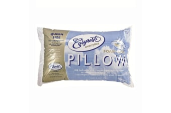 Everyday Foam Cored Queen Sized Pillow by Easyrest