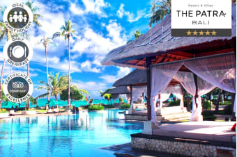 BALI: 5 or 7 Nights at The Patra Bali Resort & Villas