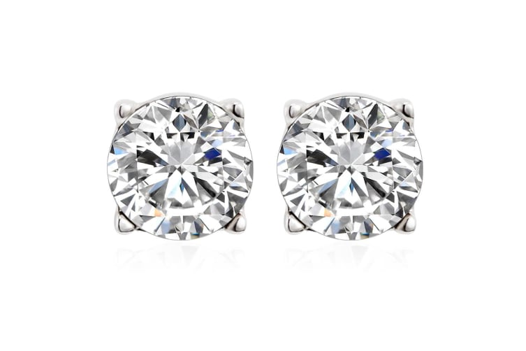 Simply Studs Earrings Embellished with Swarovski crystals