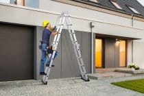 Certa 4.7m Multipurpose Aluminium Foldable Ladder