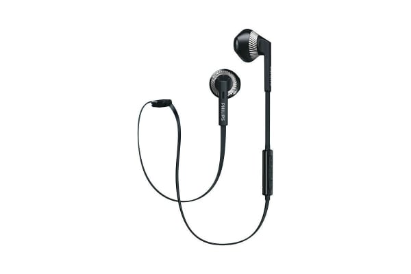 Philips MyJam FreshTones Bluetooth In-Ear Headphones - Black (SHB5250BK)