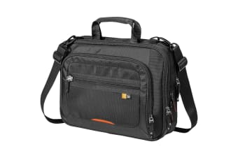 Case Logic 14 Checkpoint Friendly Laptop Case (Solid Black) (38 x 11 x 31 cm)