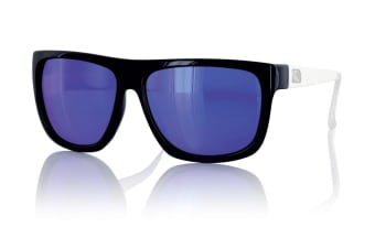 Carve Sanchez Black/White Iridium Polarized Unisex Sunglasses