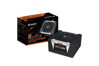 Gigabyte AP850GM AORUS 850W ATX PSU Power Supply 80+ Gold >90% Modular 135mm Fan
