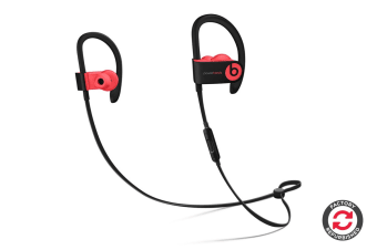 Beats Powerbeats3 Wireless Earphones Refurbished (Red) - A+ Grade