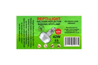 Jungle Trade Supplies Reptile Halogen Reflector ES (42W) (May Vary) (42w)