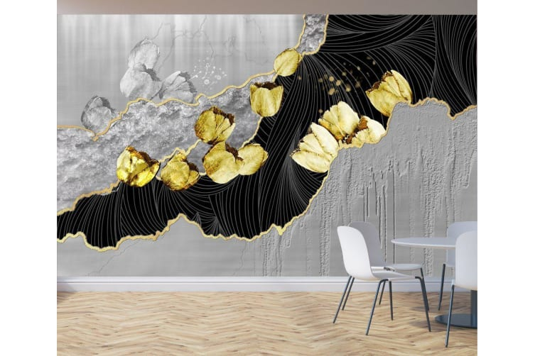 3D Abstract Pattern 872 Wall Murals Woven paper (need glue), XL 208cm x 146cm (WxH)(82''x58'')