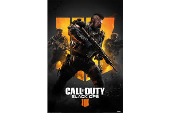 Call Of Duty Black Ops 4 Trio Poster (Multi-colour) (One Size)