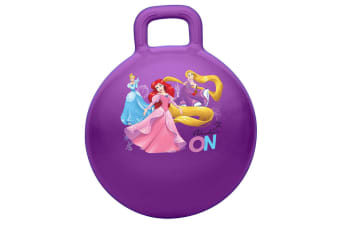 Disney Princess Hopper Ball for Kids/Children Fun Bounce Outdoor Toy w/ Handle
