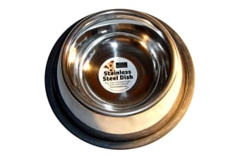 Fed N Watered Stainless Steel Cocker Spaniel Bowl (May Vary) (25cm)