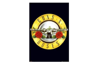 Guns N Roses Logo Poster (Black) (One Size)