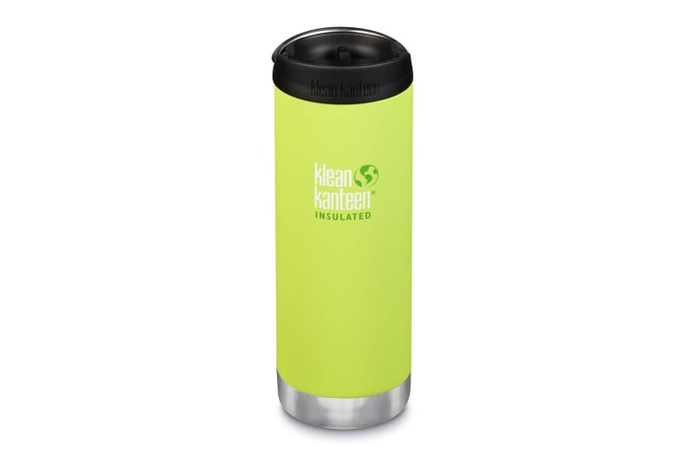 Klean Kanteen TKWide 16oz (with Cafe Cap) Juicy Pear