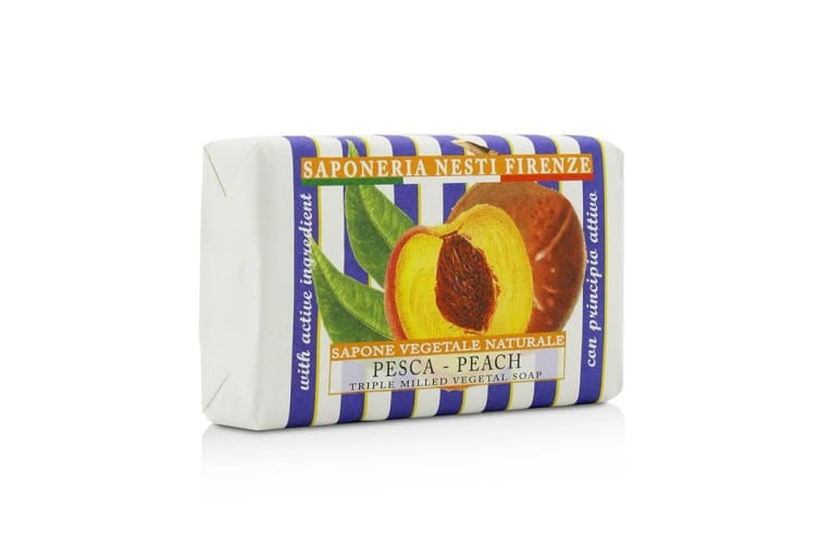 Nesti Dante Le Deliziose Natural Soap -  Peach 150g