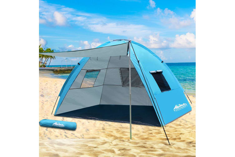 Camping Tent Beach Tents Hiking Sun Shade Shelter Fishing 2-4 Person