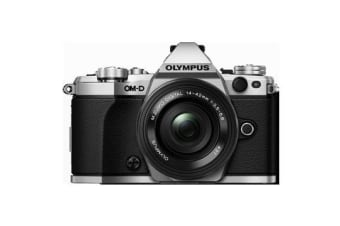 New Olympus OM-D E-M5 Mark II Mirrorless with 14-42mm Digital Camera Silver (FREE DELIVERY + 1 YEAR AU WARRANTY)