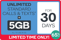 Kogan Mobile Prepaid Voucher Code: MEDIUM (30 Days | 5GB)