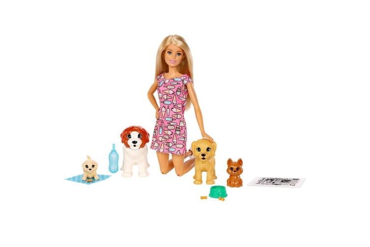 Barbie Doggy Daycare Doll & Pet Playset