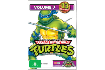 Teenage Mutant Ninja Turtles Volume 7 DVD Region 4