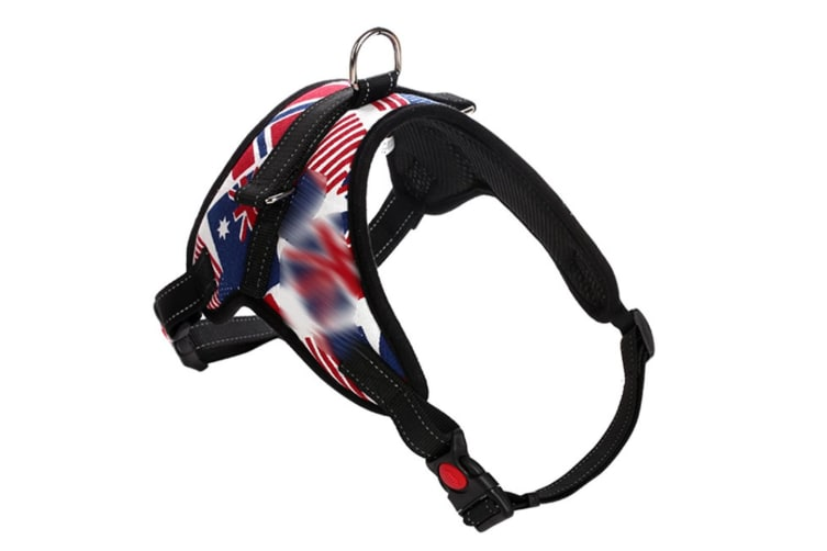 Dog Chain Explosion-Proof Breasted Strap For Walking Dog Leash - 9 Red S