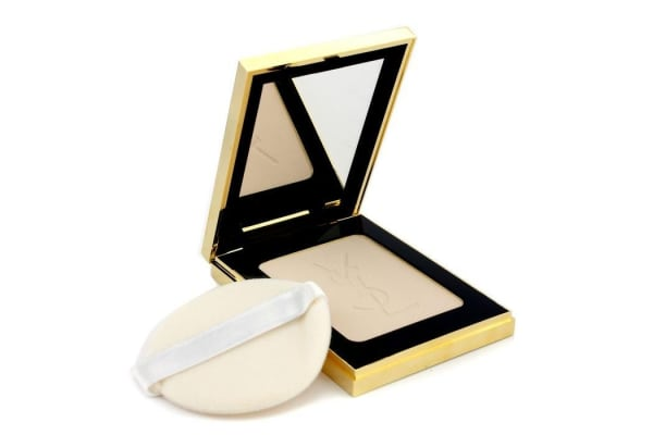Yves Saint Laurent Poudre Compacte Radiance Matt & Radiant Pressed Powder - # 02 Pink Sand (8.5g/0.29oz)
