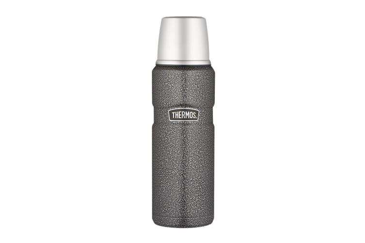 Thermos Stainless King 470ml Vacuum Insulated Flask (Hammertone)