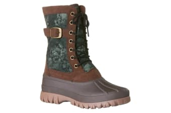 Rojo Women's Snow Side Tracked Boots Size 8/39