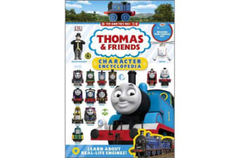 Thomas & Friends Character Encyclopedia - With Thomas Mini toy