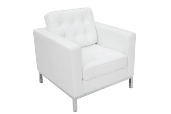 Replica Florence Knoll Arm Chair | White