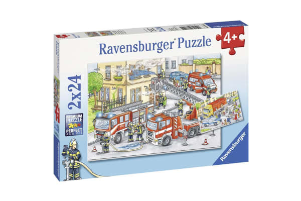 Ravensburger Heroes in Action Puzzle - 2 x 24 Piece